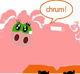 oszczędna świnka