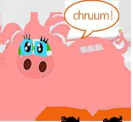 świnka oszczędza na rachunkach za gaz