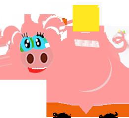 świnka oszczędza więcej na rachunkach za gaz