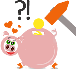 rozbijamy świnkę z oszczędnościami na rachunkach za prąd